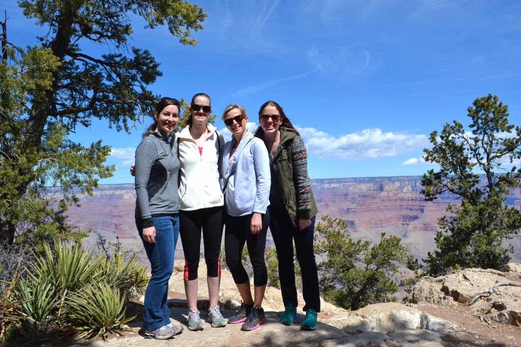 Group shot Grand Canyon